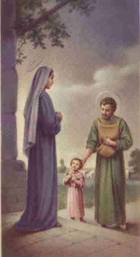 Saint Joseph's site Welcome to Saint Joseph's site – a site created for the purpose of spreading the devotion to this great but humble and unpublicized man who persists only in the outer fringes of the Joyful Mystery of the Holy Rosary. Very little is recorded of him in the